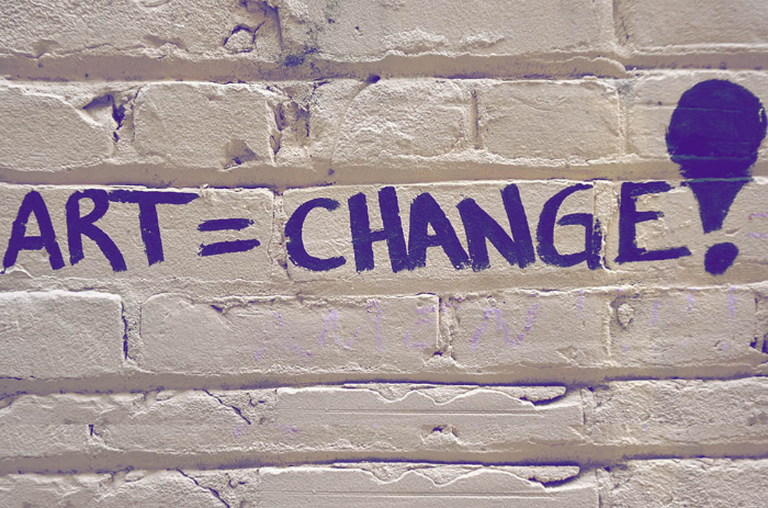 Art is change